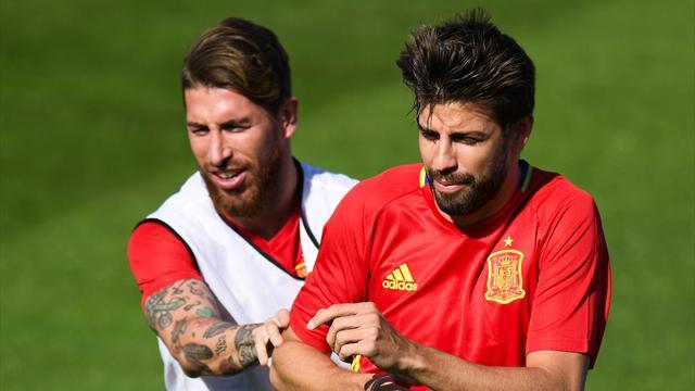 Ce que Ramos a dit à Piqué — Real