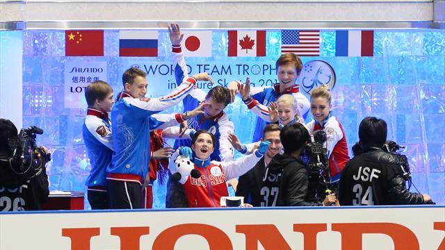 Сборная России заняла второе место на командном ЧМ