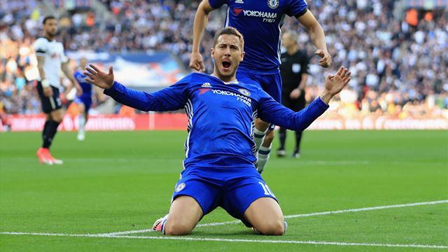 Chelsea score four to beat Tottenham in FA Cup thriller