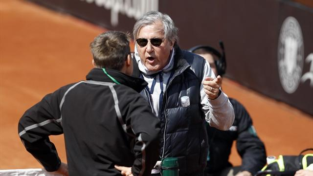 Nastase suspended by ITF