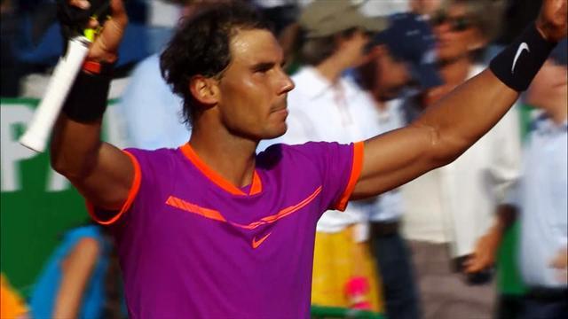 ROLEX MINUTE: Ramos-Vinolas and Nadal advance