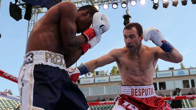 Беспутин выиграл седьмой бой на профессиональном ринге