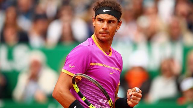 Nadal beats Ramos-Vinolas to lift Monte-Carlo Masters