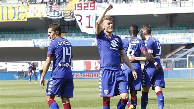 Chievo-Torino 0-0 tabellino live: esce per infortunio De Silvestri
