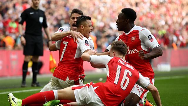"""""""Ein großes Spiel"""": Sánchez schießt Arsenal ins FA-Cup-Finale"""