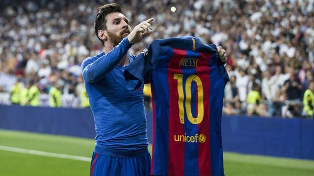 Bernabeu, l'autre jardin favori de Messi