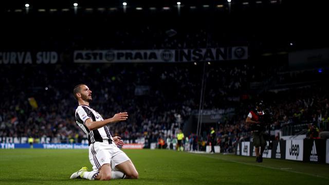 Bonucci solo goal caps crushing Juve win over Genoa