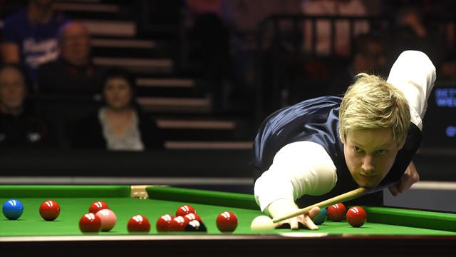 Defending champion Robertson dumped out of Riga Masters by new boy Kleckers