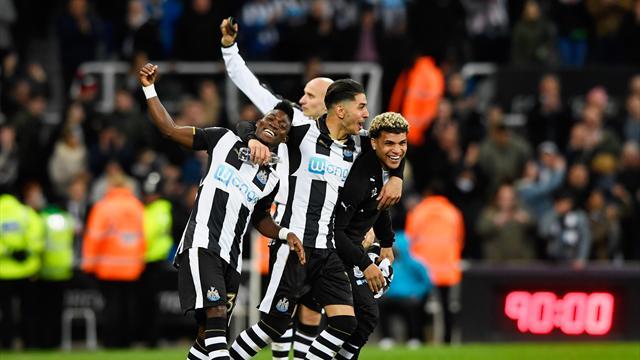 Tokeo la picha la newcastle united back to premier league