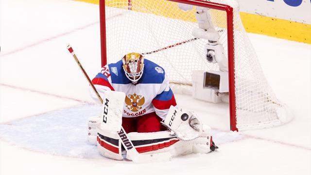 Бобровский стал первой звездой матча с «Монреалем»