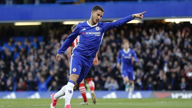 Eden Hazard says Chelsea must graft again next season to avoid post-title dip