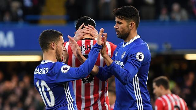 Chelsea maîtrise et se rapproche du titre
