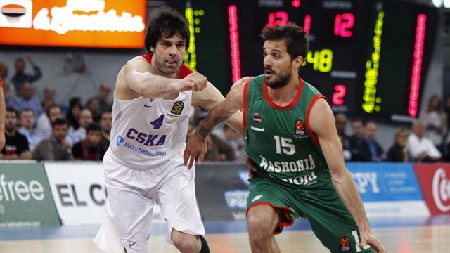 Baskonia-CSKA: Eliminados con polémica (88-90, serie 0-3)