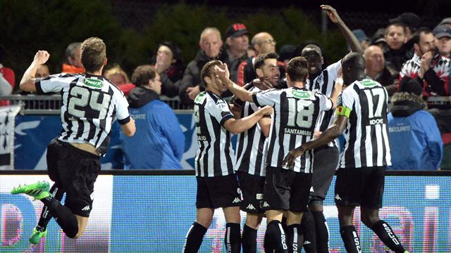 Angers beat Guingamp to reach French Cup final