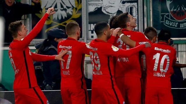 Победитель матча «Бавария»— «Боруссия» Двфинале Кубка Германии сыграет с«Айнтрахтом»