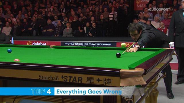 Anche i migliori sbagliano: la Top 5 delle scene più strane nello snooker