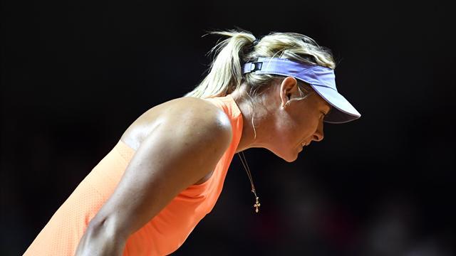 El regreso más deseado: Maria Sharapova vence a Roberta Vinci en su vuelta a las pistas 7-5 y 6-3