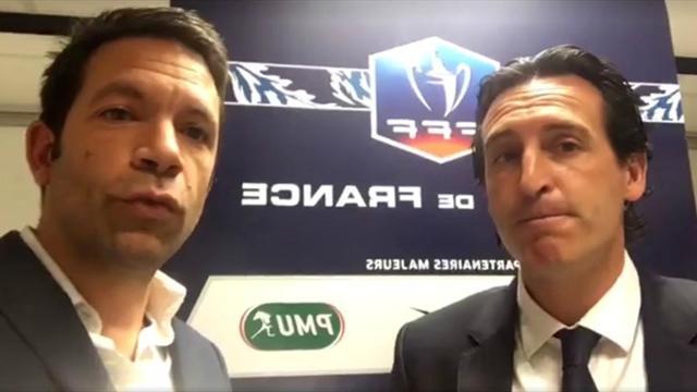 Avant PSG-Monaco, Unai Emery était l'invité exceptionnel de notre Live Facebook