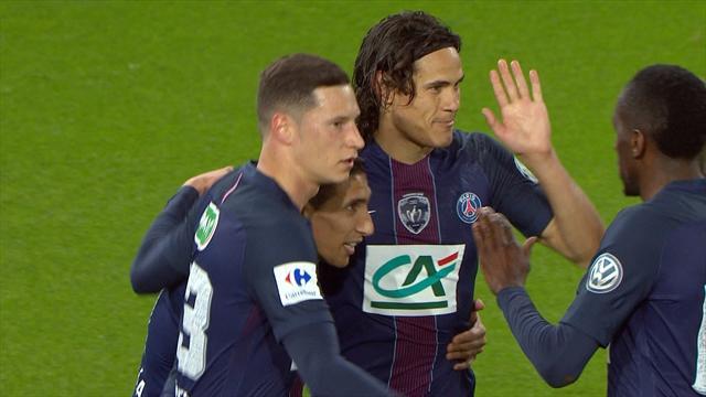 Le geste génial de Cavani met Paris à l'abri