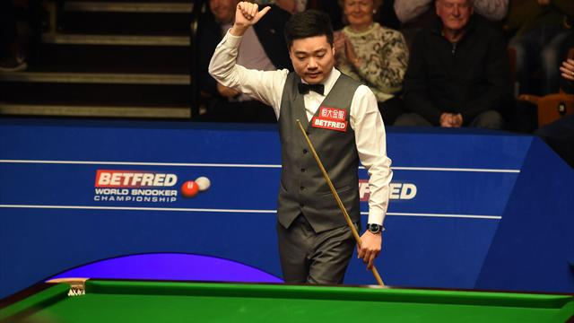 Ding on pain of losing mum to cancer: 'I'll give everything to become world champion for her'