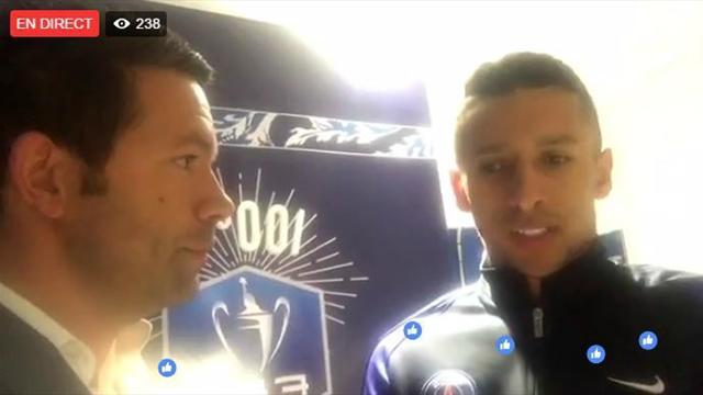 Live Facebook : Meunier, Marquinhos et Jardim ont débriefé avec vous PSG-Monaco