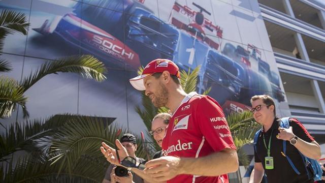 F1: Vettel domina prácticas del GP de Rusia