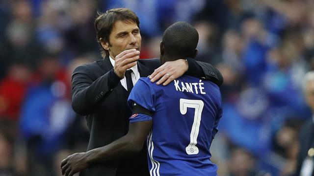 N'Golo Kanté absent trois semaines, selon Conte