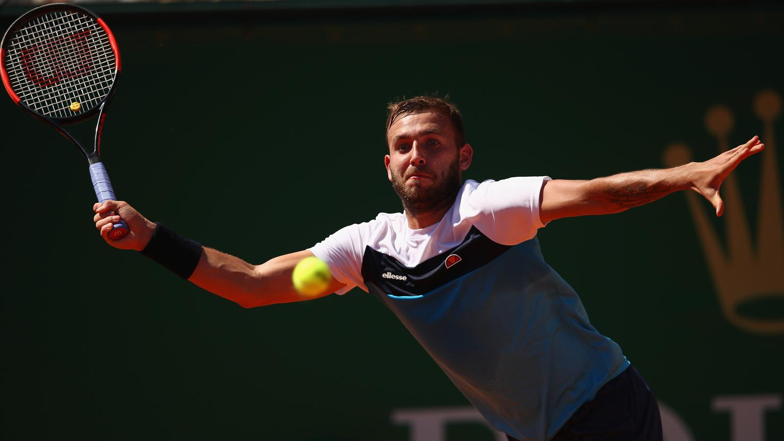 Dan evans hopes to find his way around the clay at roland for Dans way way