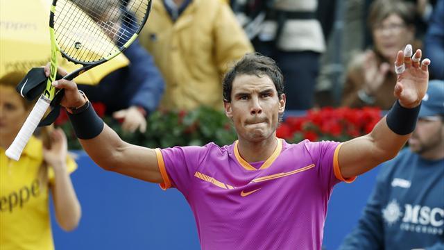 Nadal gana su décimo título en Barcelona