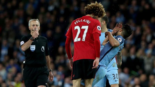 Un cabezazo de Fellaini a Agüero aleja a Mourinho de la Champions (0-0)