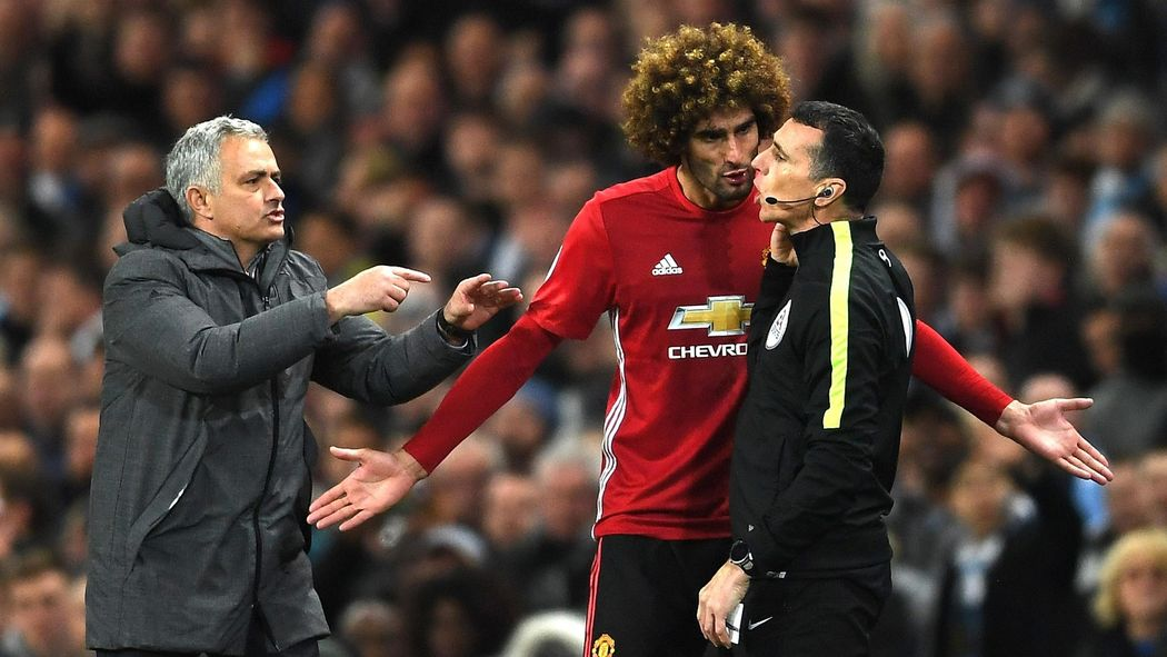 5ef181491d7 The Warm-Up  Marouane Fellaini ends his Manchester United career in 19  seconds - Premier League 2016-2017 - Football - Eurosport UK
