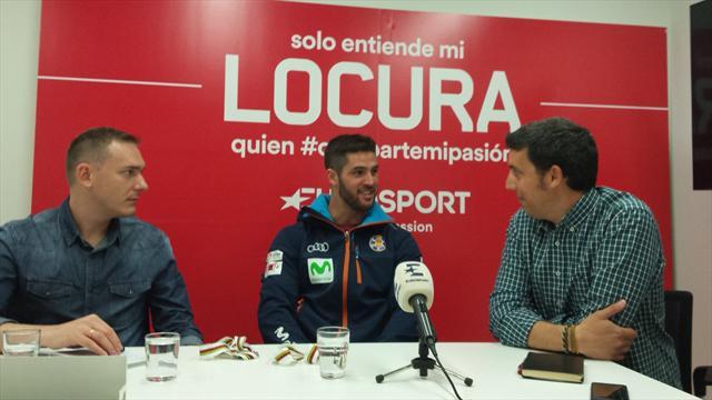 """Lucas Eguibar: """"A Paquito se le recuerda siempre por el oro olímpico y yo quiero uno en Pyeongchang"""""""