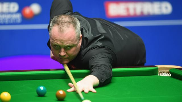 Higgins takes lead going into evening session