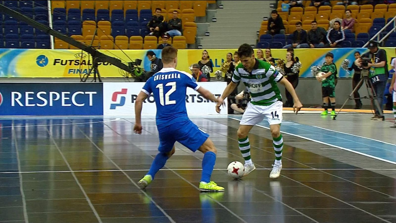 Highlights  Sporting reach Futsal Cup final with win over Ugra 1d35a46ef0855