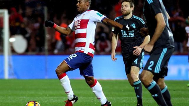 Con gol de Vela, la Real manda al descenso al Granada