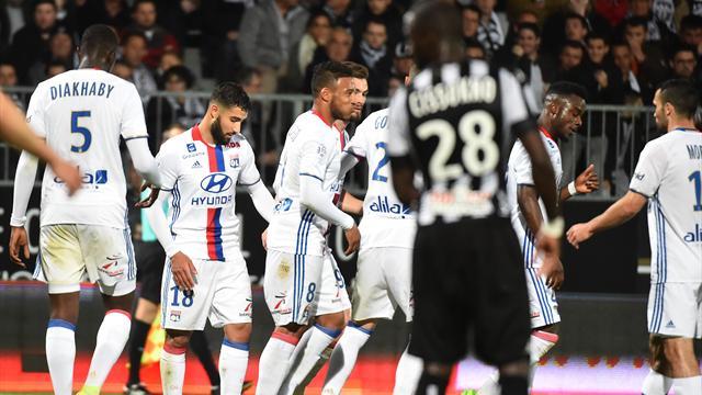 Encore raté pour Angers, battu par un OL efficace