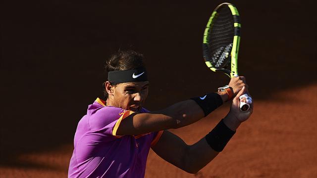 Godó 2017, Nadal-Zeballos: Domar al rival y al viento 6-3 y 6-4