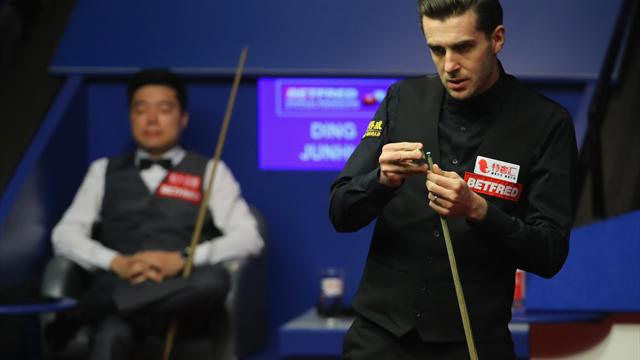 Selby finally sees off Ding in Crucible classic to make final
