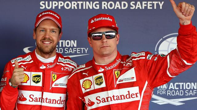 Ferrari conserverait Vettel et Räikkönen en 2018