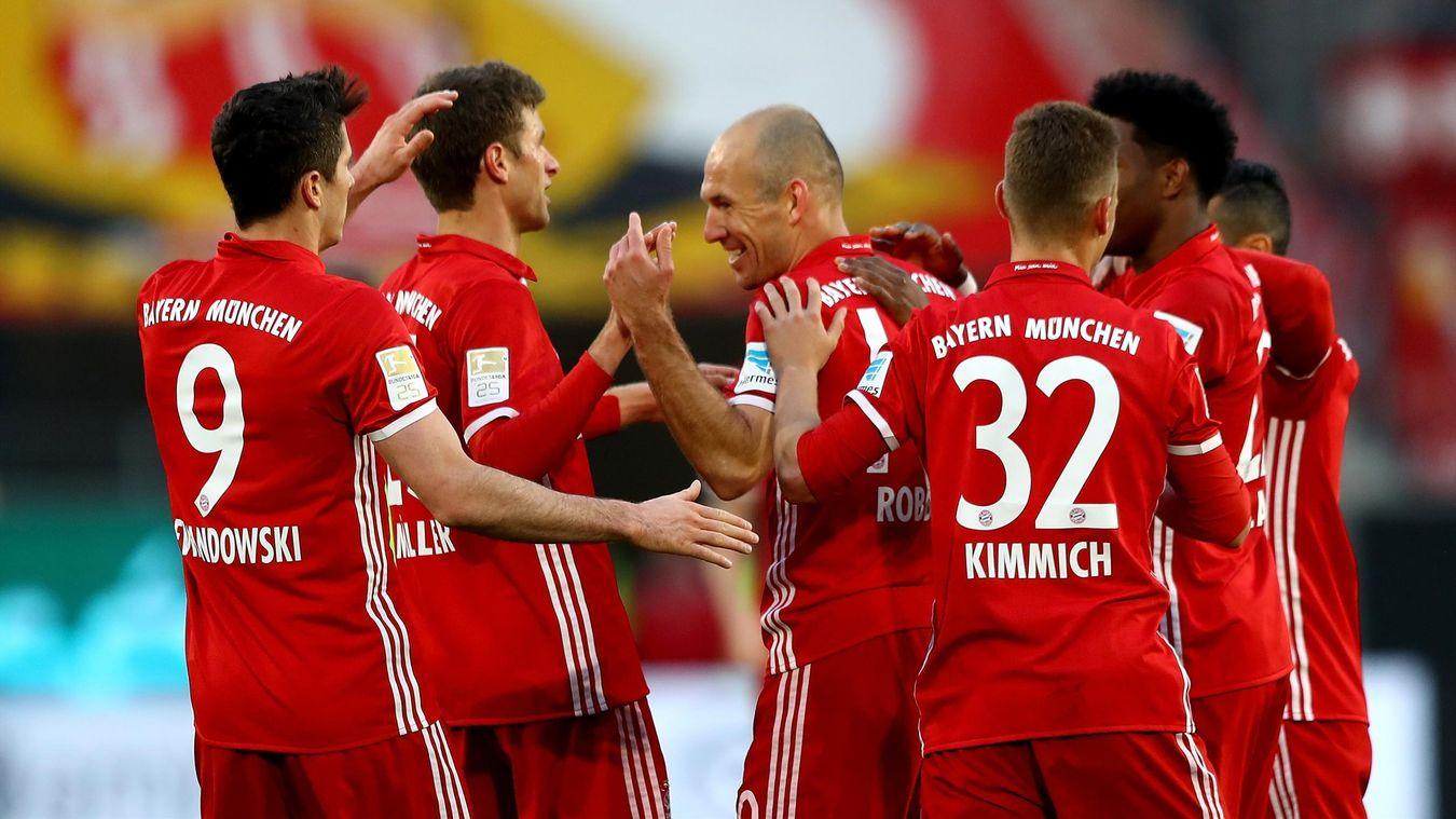 Le Bayern écrase Wolfsburg (0-6) et est sacré champion d'Allemagne pour la 5e fois de suite