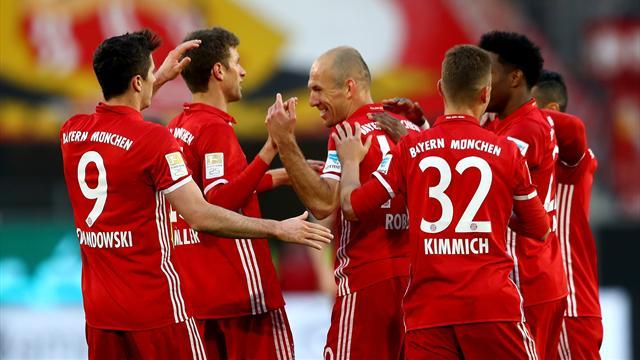 E' fatta: 6-0 al Wolfsburg, il Bayern Monaco di Ancelotti è campione di Germania!