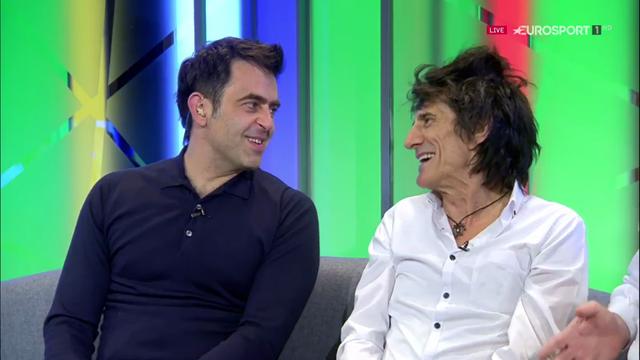 'It was a bit good!' Ronnie Wood talks Ronnie O'Sullivan's record 147