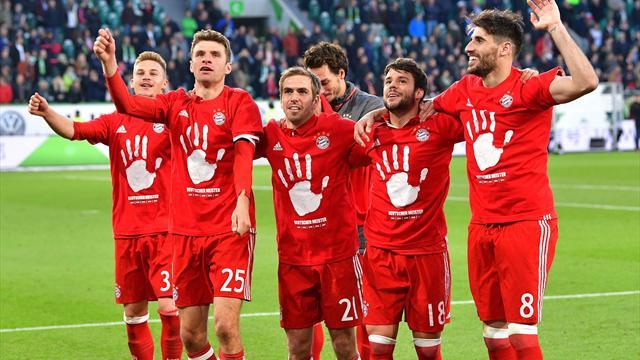 Очень-очень много голов «Баварии» в матче, сделавшем ее чемпионом Германии
