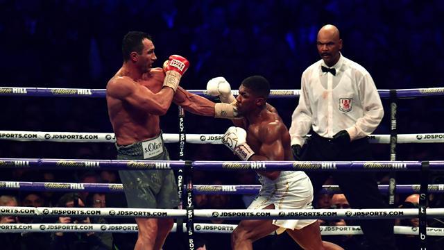 Une intensité folle, une violence inouïe mais un seul vainqueur : Anthony Joshua