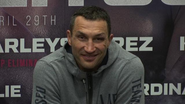 """Klitschko: """"Trotz der Niederlage viel gewonnen"""""""