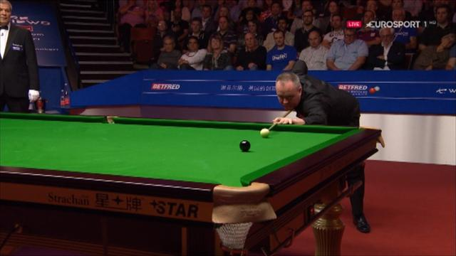 Higgins produces magnificent 141 break