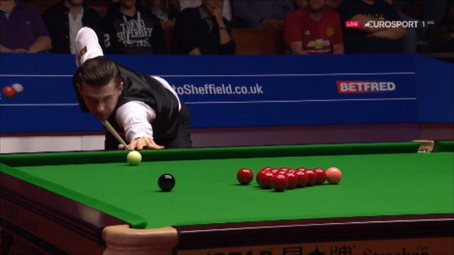 Selby follows crazy fluke with brilliant double