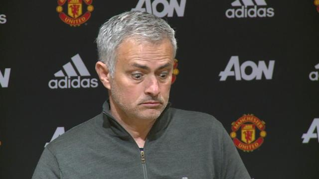Manchester n'avance pas ? C'est la faute au calendrier selon Mourinho