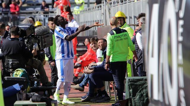 Muntari quitte le terrain après avoir entendu de cris racistes
