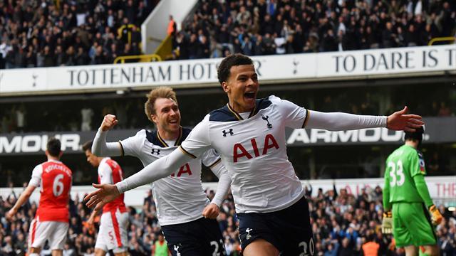 Vingt-deux ans qu'ils attendaient ça : les Spurs termineront la saison devant Arsenal